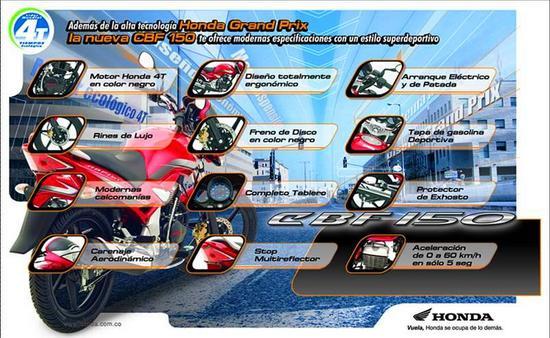 Honda CBF 150 volante