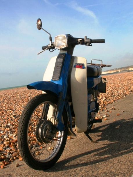 Yamaha V80 la primera semiautomatica