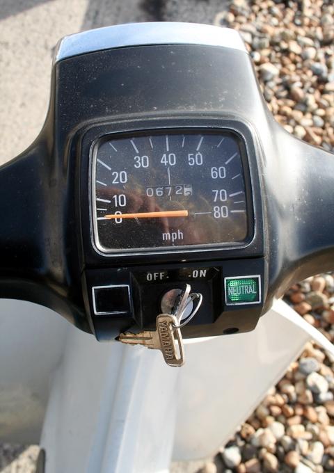 Yamaha V80 Velocimetro