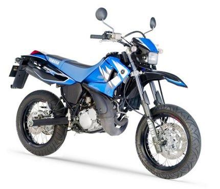 Yamaha DT 125 X 2006 Azul