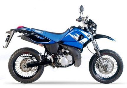 Yamaha DT 125 X 2006 Perfil