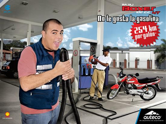 Auteco Bajaj C 100 Publicidad