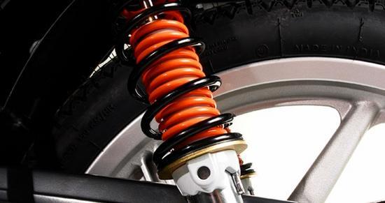 Auteco Platino 100 suspension