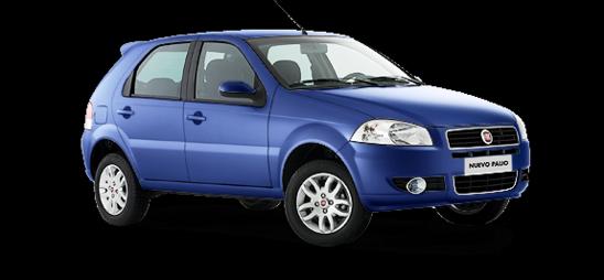 Fiat Palio Color metalizado Azul vitality