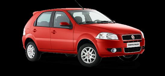 Fiat Palio Color metalizado Rojo barroco