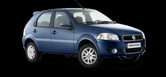 Fiat Palio Color pastel Azul búzios