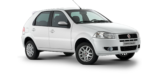 Fiat Palio Color pastel Blanco banchista