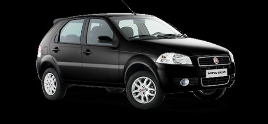 Fiat Palio Color pastel Negro vulcano