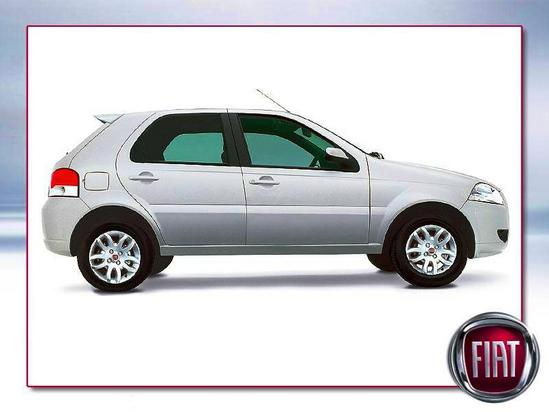 Fiat Palio lateral perfil
