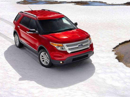 Ford Explorer wallpaper 5