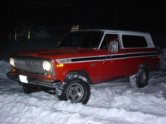 Jeep Cherokee primera generacion 1974