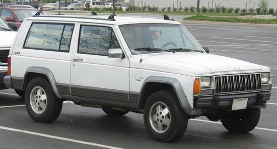 Jeep Cherokee segunda generacion 1984
