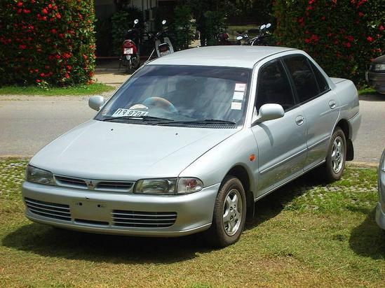 Mitsubishi Lancer Quinta generación 1991