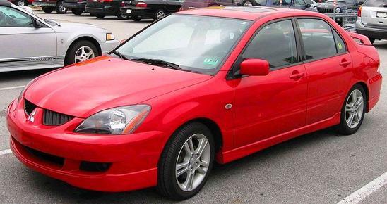 Mitsubishi Lancer Séptima generación 2002