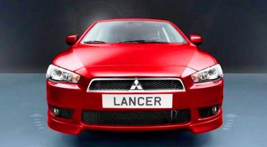 Mitsubishi Lancer frontal