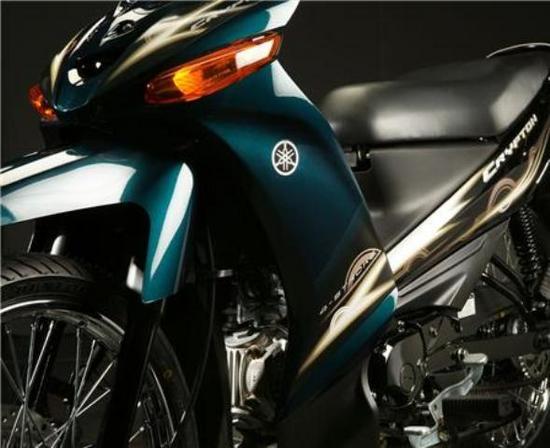 Yamaha Cripton 110 T 115 detalle