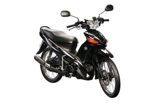 Yamaha Cripton 110 T 115 negro