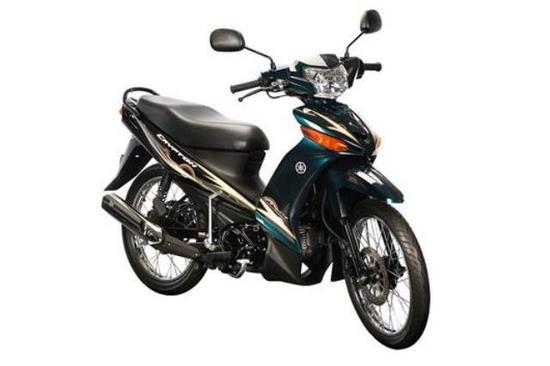 Yamaha Cripton 110 T 115 verde