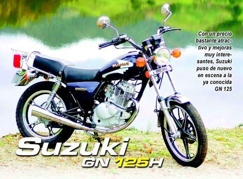 Suzuki GN 125 Revista