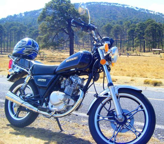 Suzuki GN 125 wallpape 3