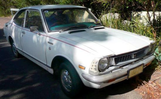 Toyota Corolla Coupe Serie 20 [1970-1978]