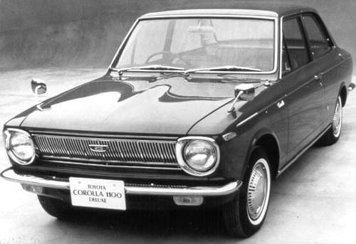Toyota Corolla E70 1966