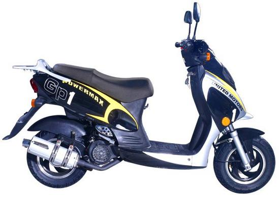 United Motors GP1 125 perfil