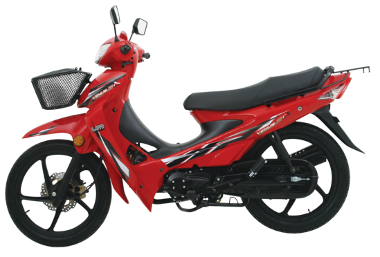 United Motors Venus 115 R perfil