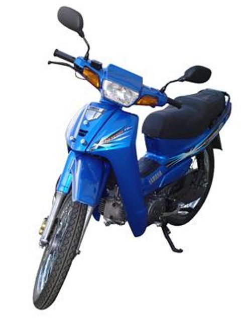 Yamaha Cripton 110 azul