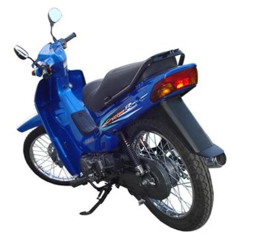 Yamaha Cripton 110 vista trasera