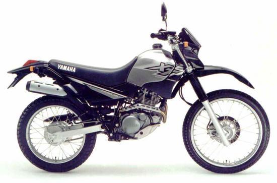 Yamaha XT 225 gris