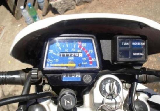 Yamaha XT 225 panel