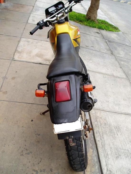 Yamaha XT 225 stop