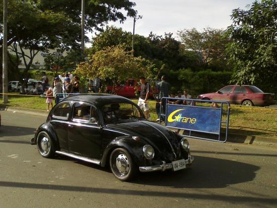 Feria de cali, desfile de carros viejos 2010