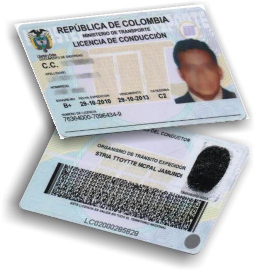 NO SE TIENEN QUE CAMBIAR MASIVAMENTE LAS LICENCIAS DE CONDUCCIÓN O PASE EN COLOMBIA