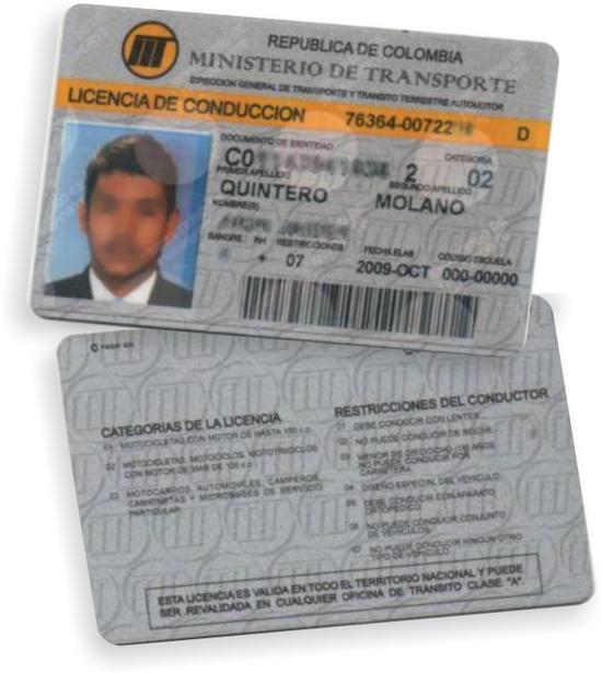 Nuevas Licencias de Conducción en Colombia