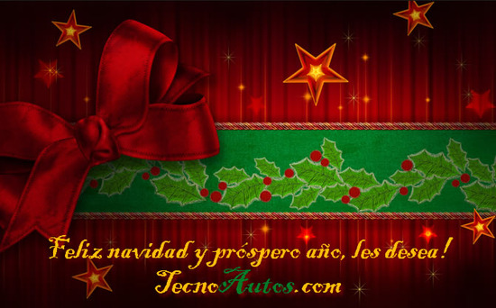 tarjeta y mensajes de navidad