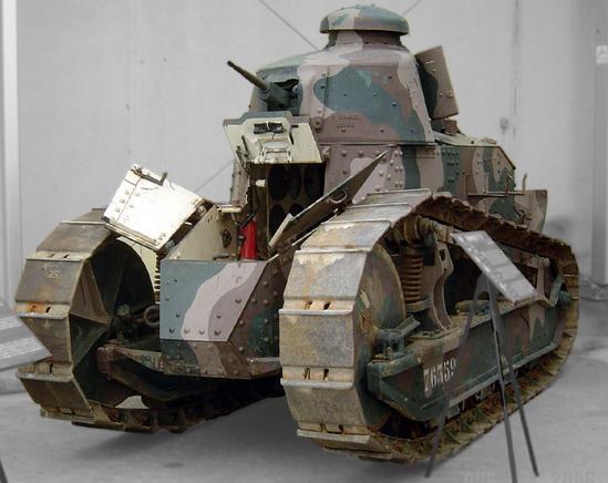 Tanque de guerra fabircado por Renault