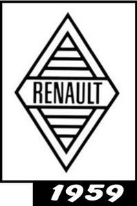 Renault logo 1959