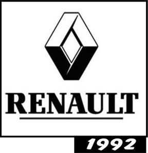 Renault logo 1992