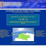 Consulte la hora legal en Colombia - web horalegal sic gov co