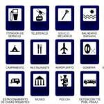 vista señales de transito informativas
