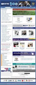 Imagen del sitio de consultas de estado de cuenta del ICETEX