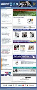 Vista de www.icetex.gov.co | Página Inicial