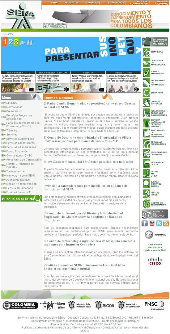 Cursos y Servicios ofrecidos por el SENA en Colombia