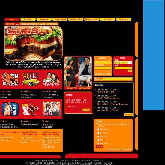 www.caliescali.com - Portal de Enero de 2006