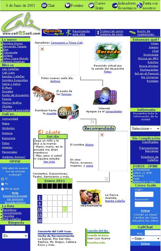 CaliEsCali Web Chat Sección Caleñas