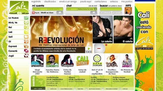 caliescali.com - Chat y Caleñas Web 2007