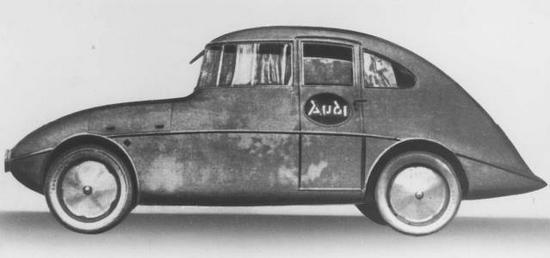 El primer modelo Audi