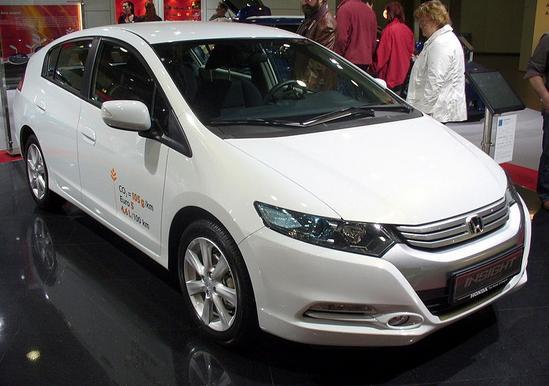 Insight 2009, el nuevo híbrido de Honda.